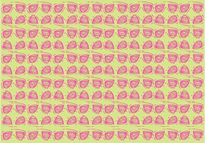 Free 80s Sunglasses Vector Pattern