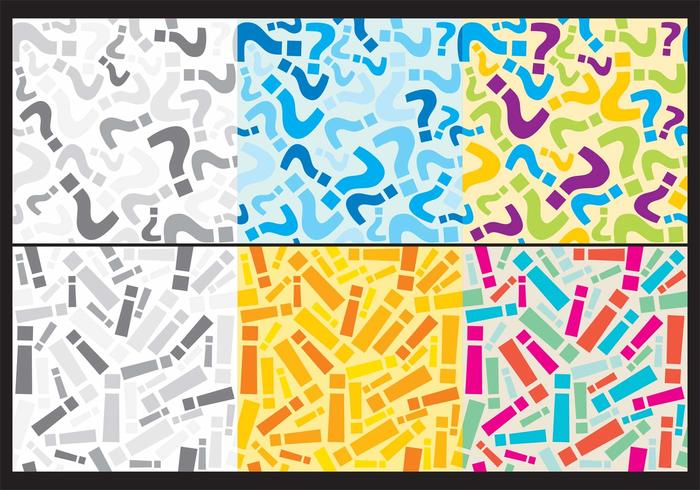 Question And Exclamation Backgrounds