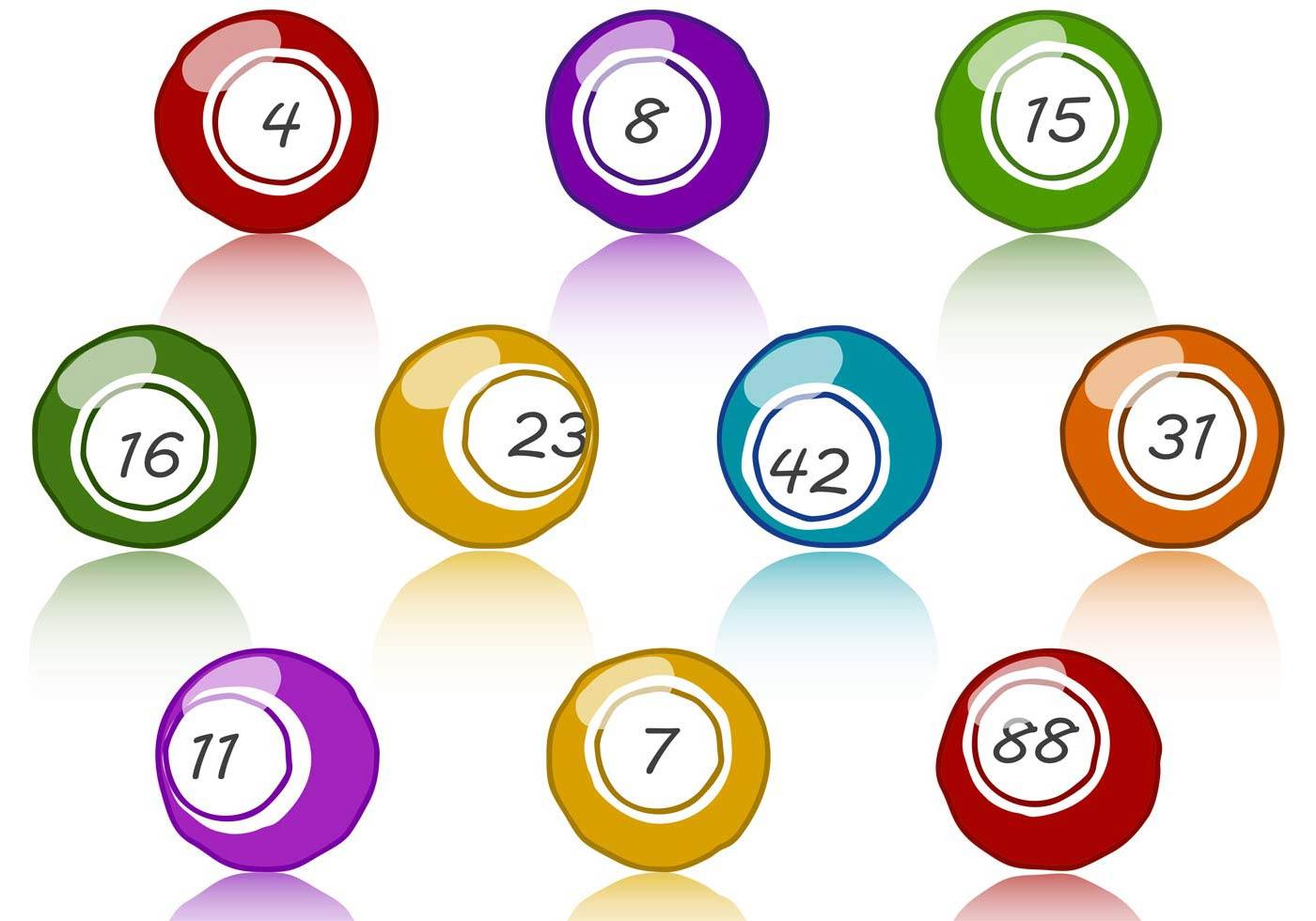 Red ball roundup keno game