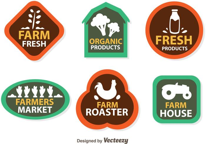 Vector Farmers Logo Icons