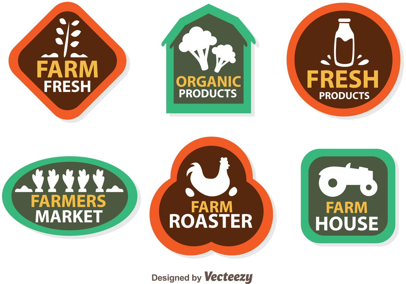 vector farmers logo icons download free vector art