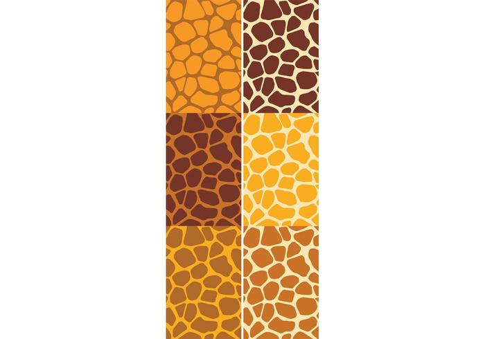 Giraffe Pattern Set