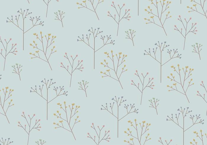 Tree Pattern Background