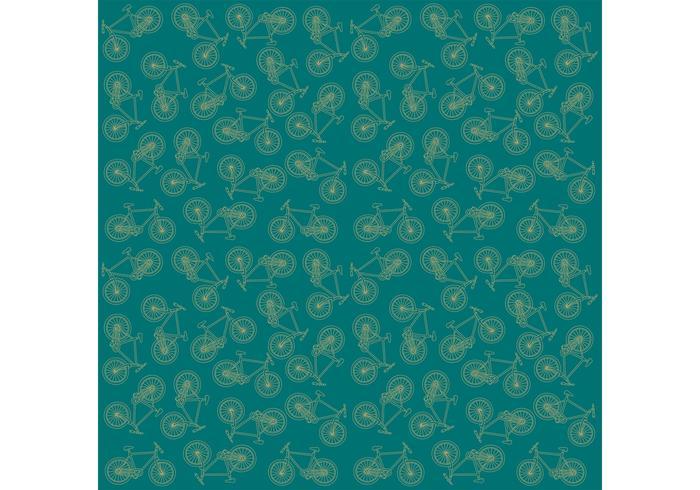 Vector Bike Pattern Background