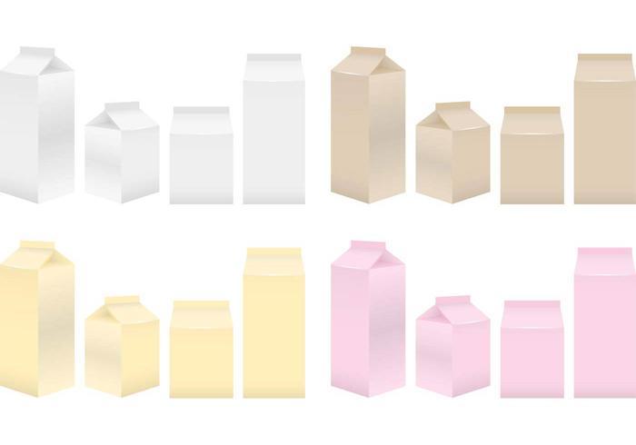 Cajas de leche