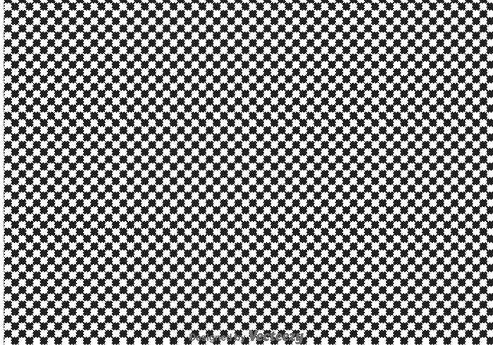 Sketchy Checker Board Background