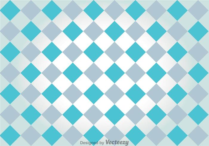 Gray And Blue Checker Board