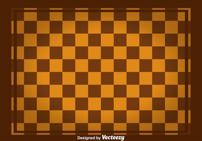 Vecteur tableau carré brun carré