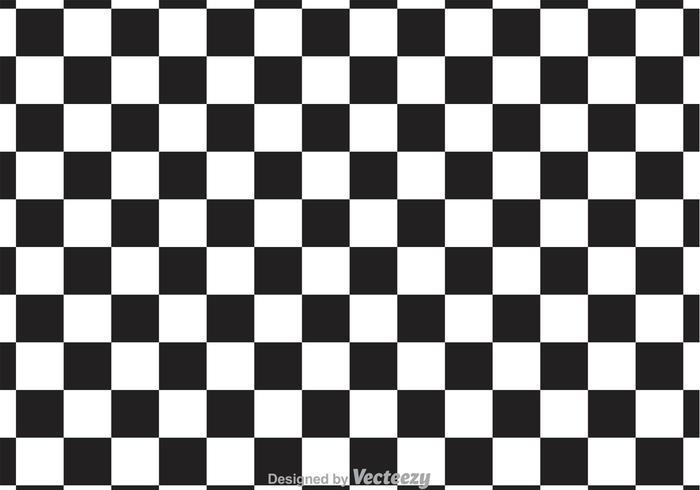 Classic Checker Board Vector