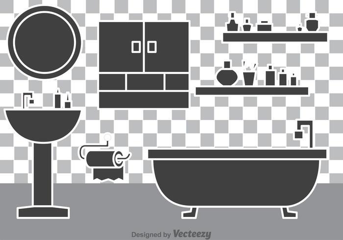 Bathroom Vectors