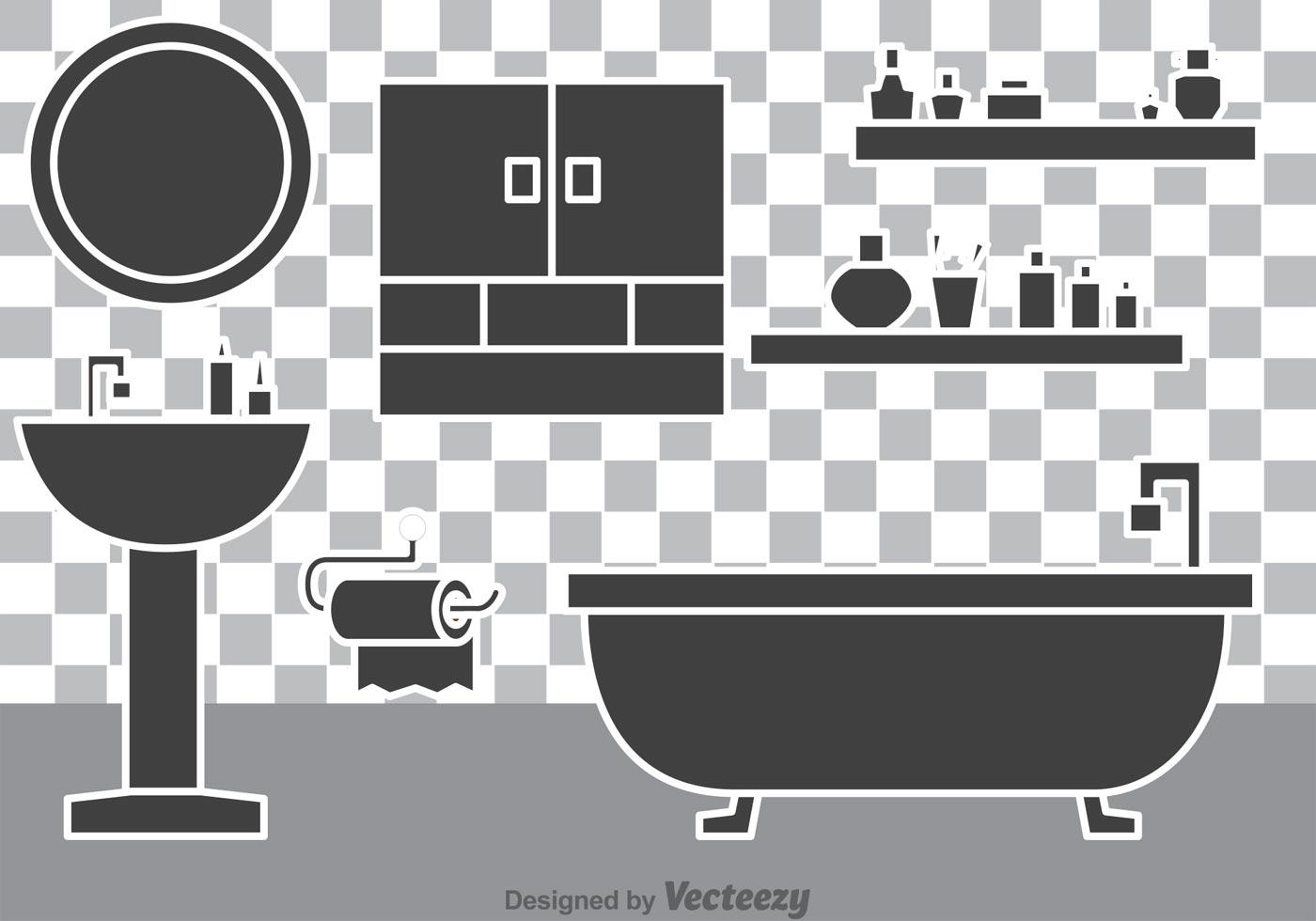 Bathroom Vectors Download Free Vector Art Stock