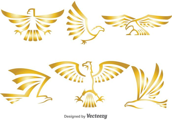Golden Eagle Logo Vectors