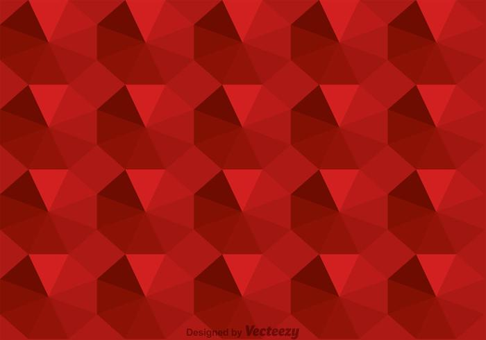 Maroon Octagon Background Vector