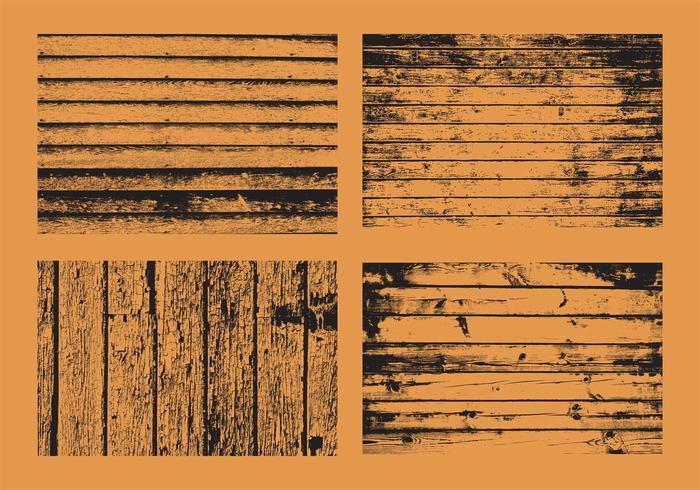 Grunge Wood Vectors