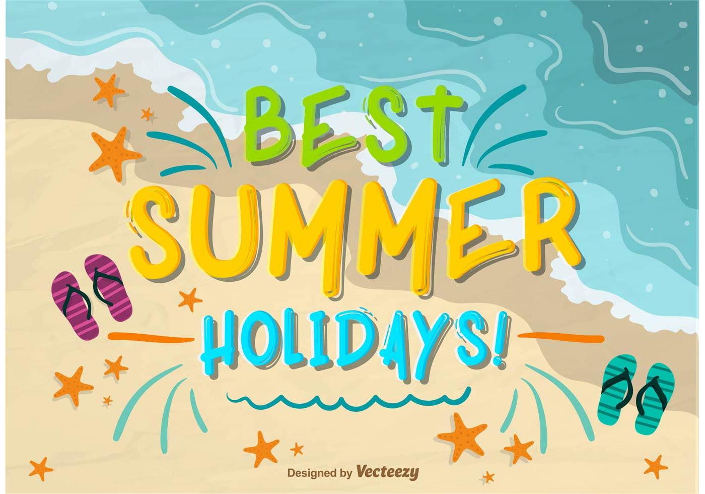 Best Summer Holidays Wallpaper - Download Free Vector Art, Stock ...