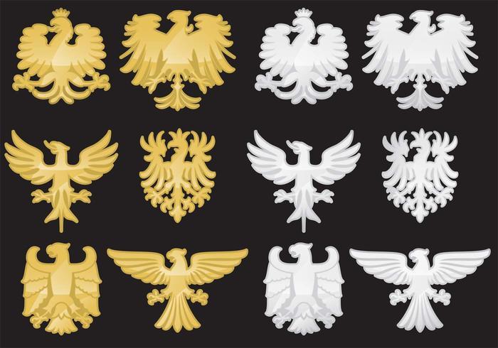 Heraldische Eagle Vektoren
