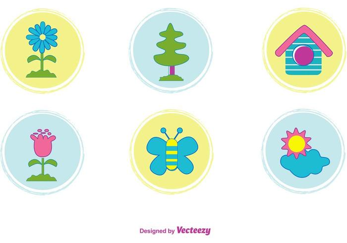 Cute Nature Icons