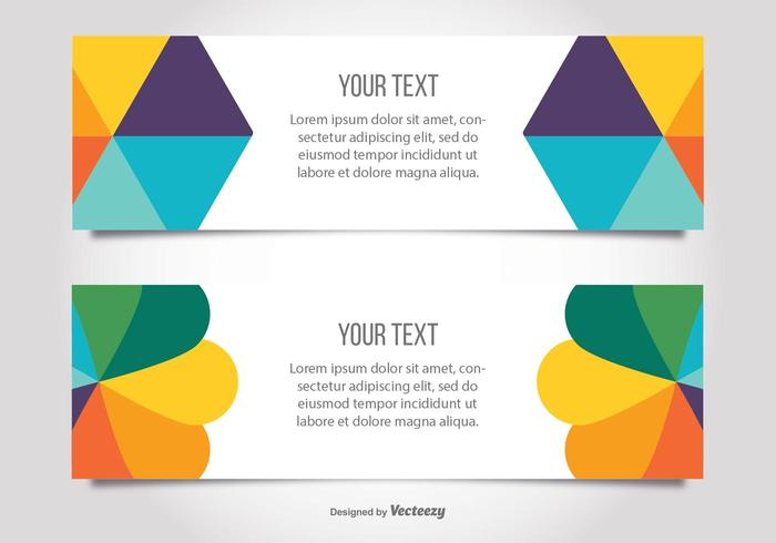 Colorful Modern Banner Templates - Download Free Vector Art, Stock ...