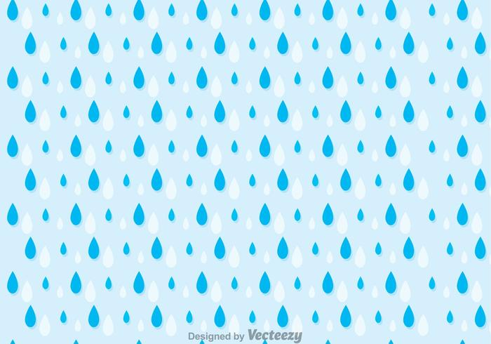 Rainy Seamless Pattern Vector