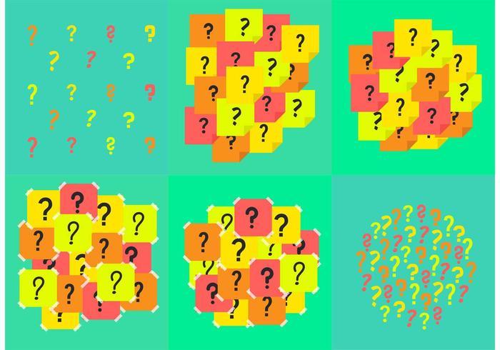 Question Mark Background Vectors