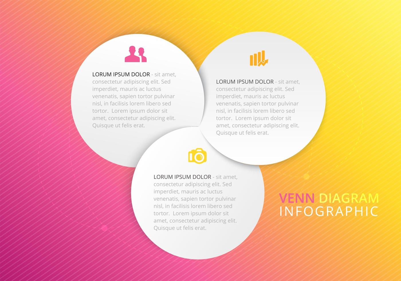 Free Paper Venn Diagram Vector