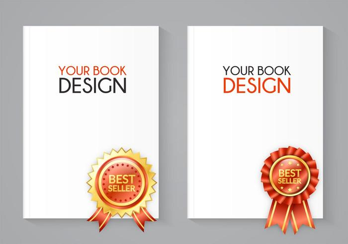 Free Best Seller Book Vector Set