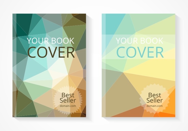 Book Cover Art Software ~ Free best seller book cover vector set download