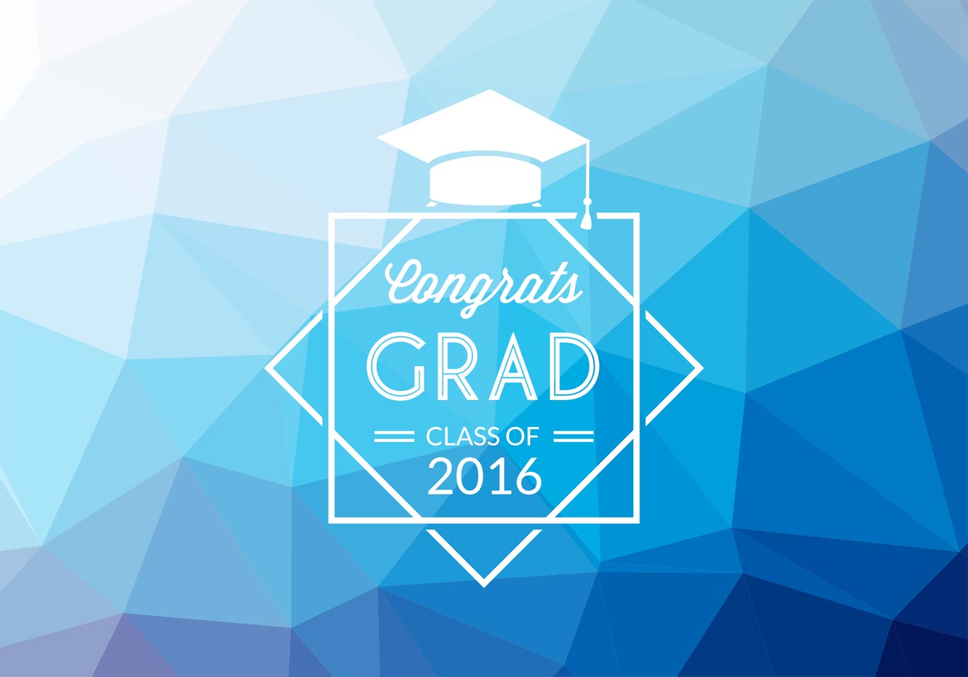 abstract graduation vector background