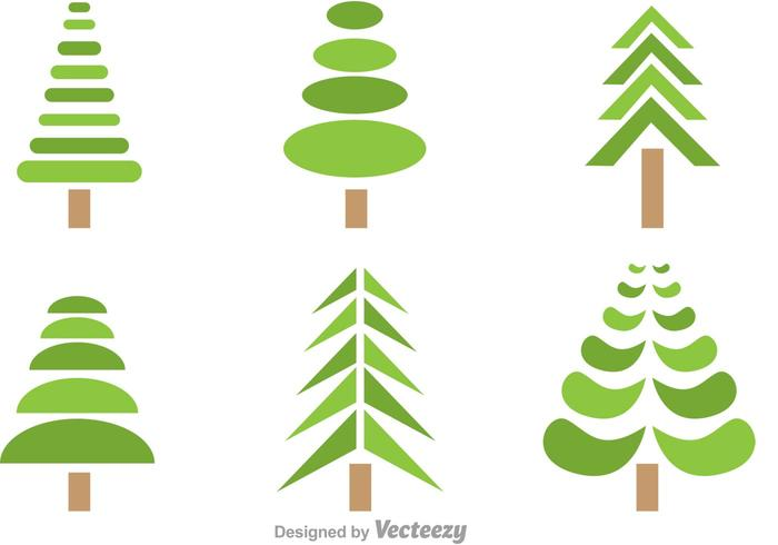 Symmetrical Tree Vectors Download Free Vector Art Stock