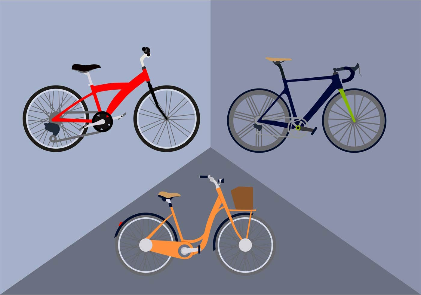 Free bicycle vector download free vector art stock for Clipart to download for free