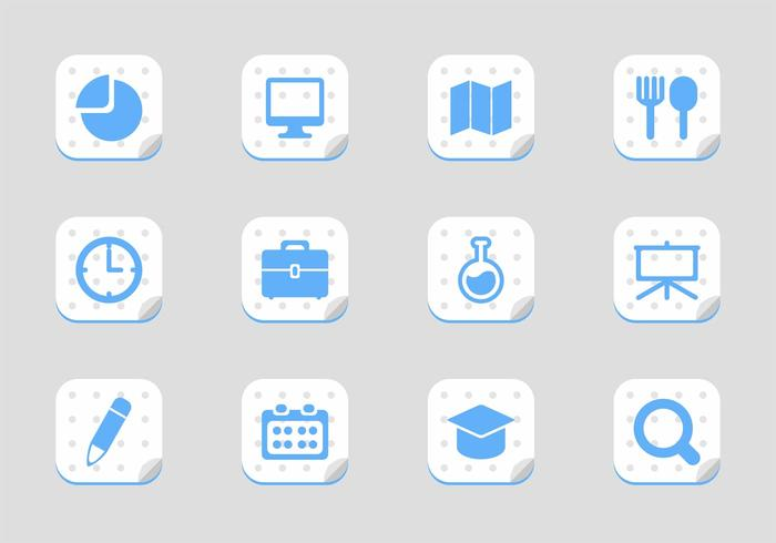 Free School Icon Vectors