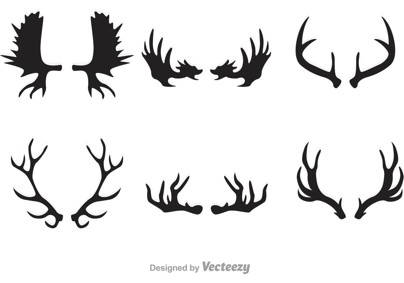 antlers free vector art 481 free downloads