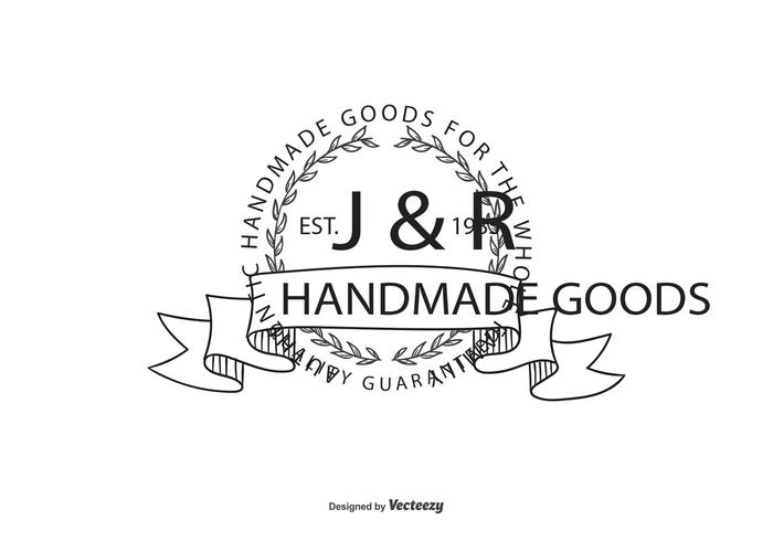 Vintage Hand Drawn Logo Template