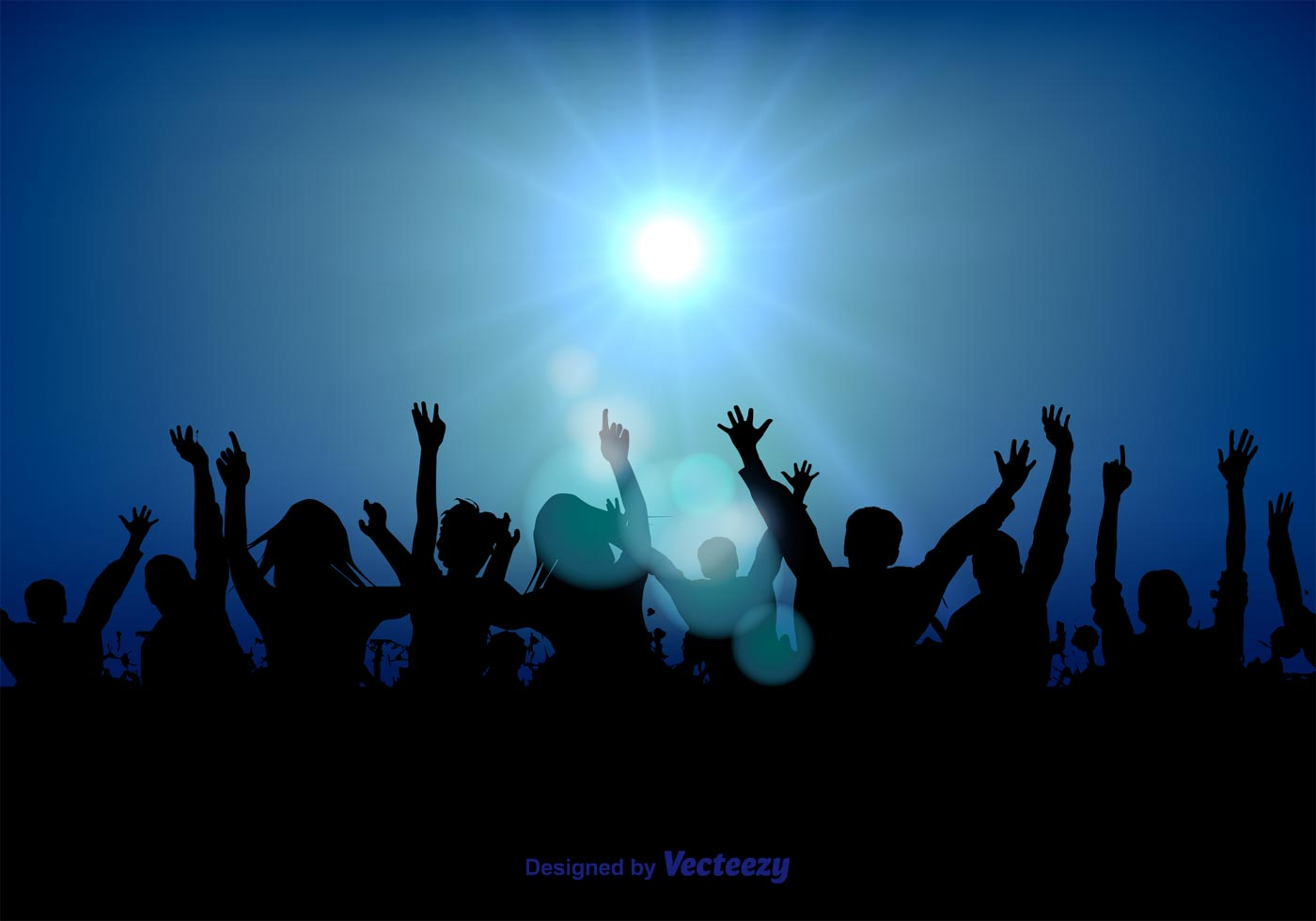 Party Crowd Illustration - Download Free Vectors, Clipart ...