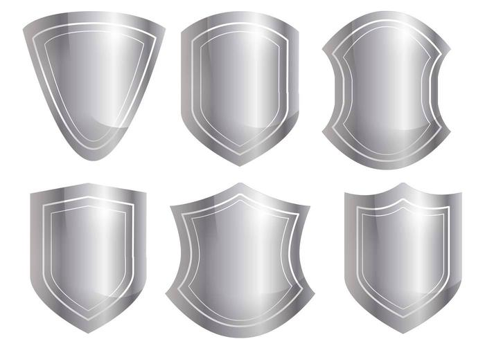Shield Shape Vector Set