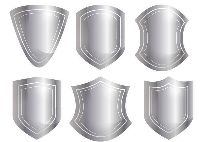 Shield Shape Vector Set