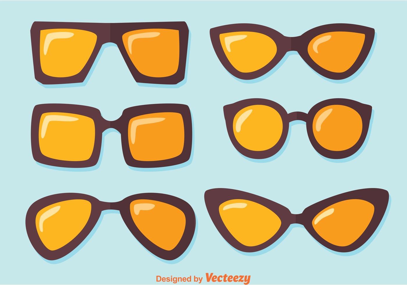 Sunglasses Vectors Download Free Vector Art Stock