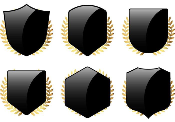 Free Shield and Laurel Vectors