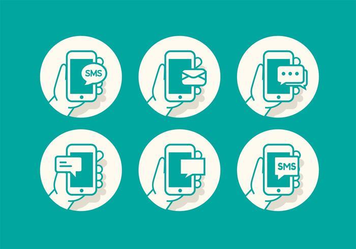SMS Icon Set