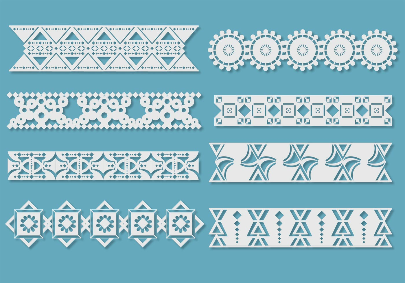 Crocheting Vector : Crochet Lace Vectors - Download Free Vector Art, Stock Graphics ...