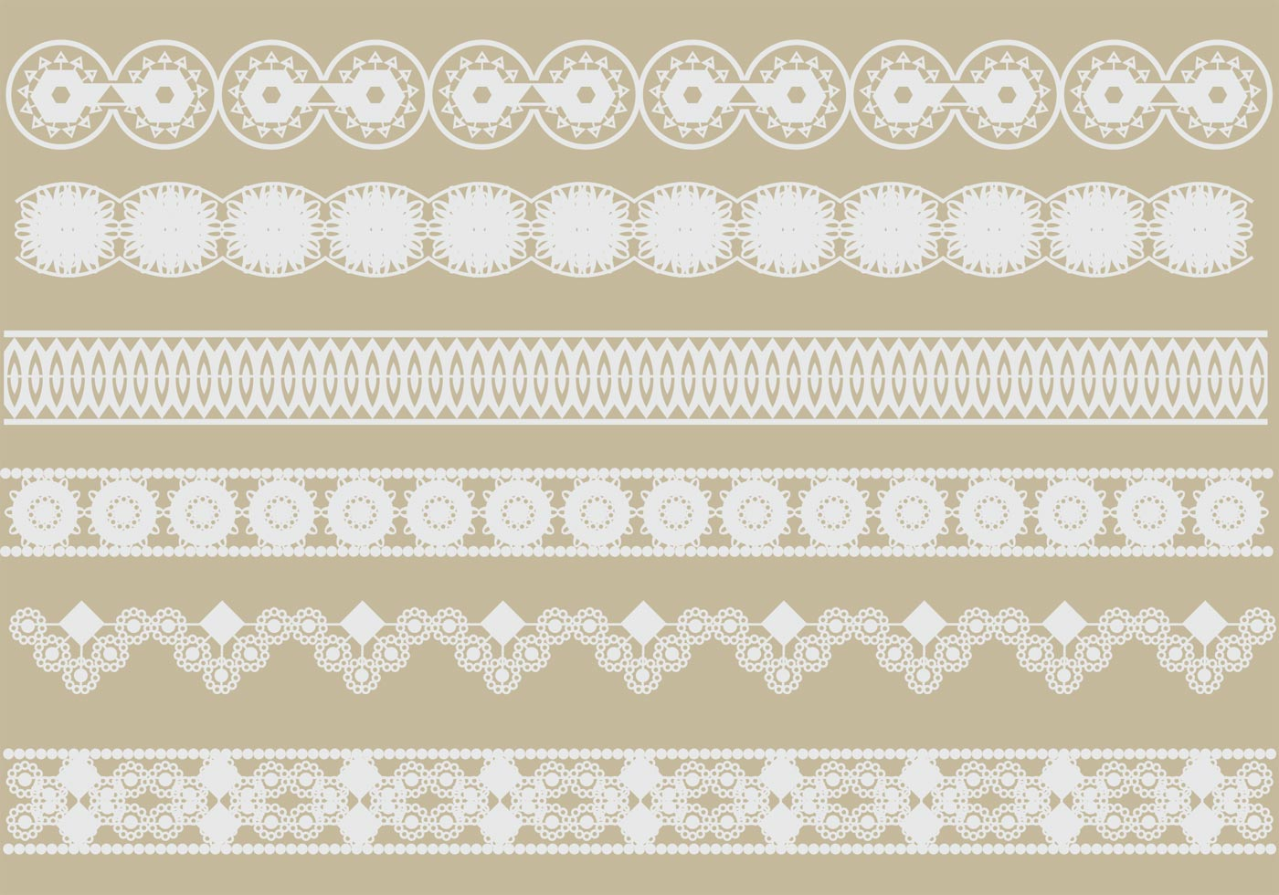 Crochet Lace Vectors - Download Free Vector Art, Stock Graphics ...