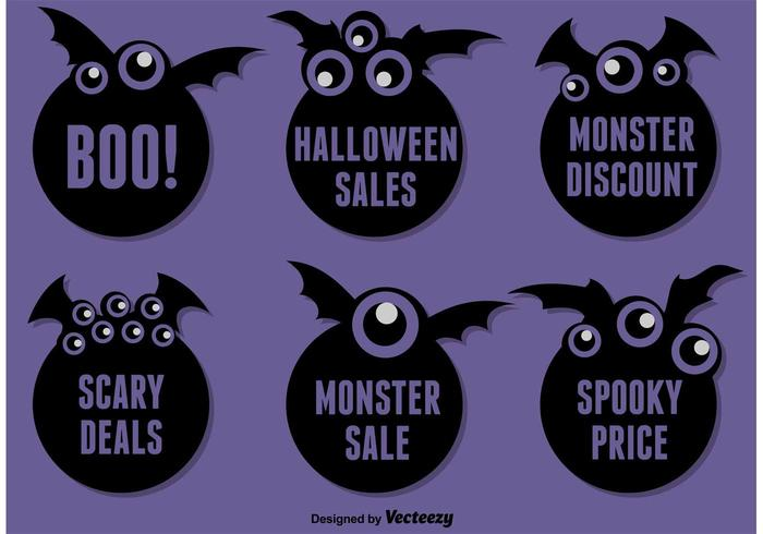 Halloween Bat Stickers
