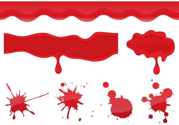 Blood Dripping Vectors