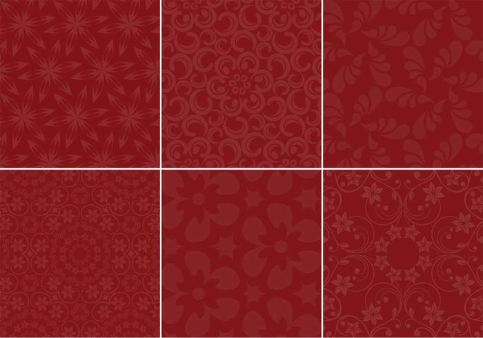 Maroon Background Vector Set