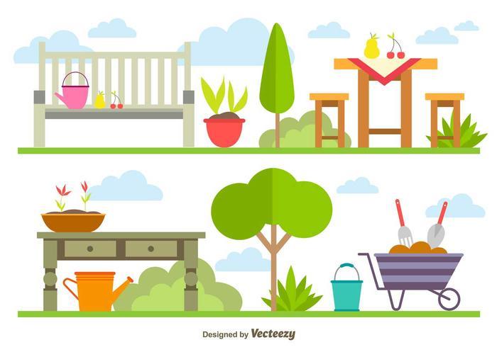 Spring Gardening Elements