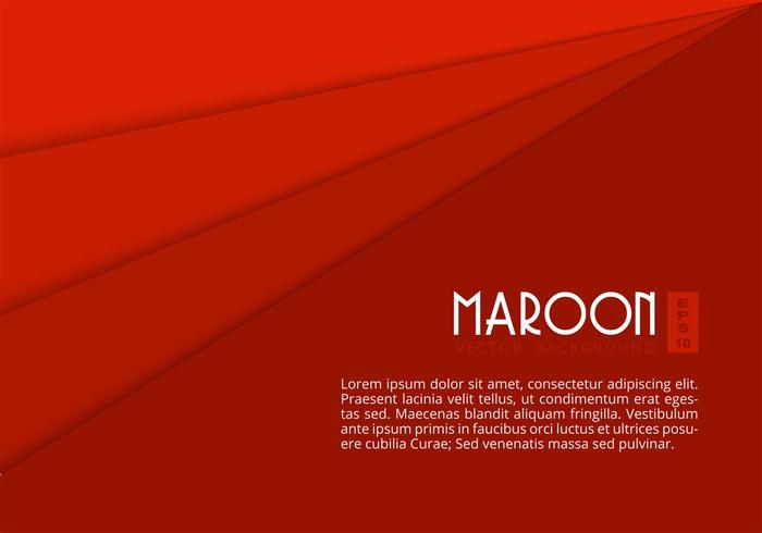 Free Maroon Paper Layers Vector Background