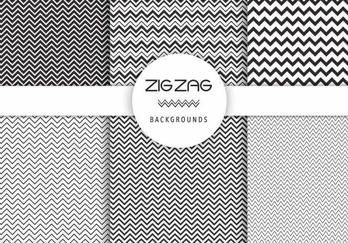 Free Vector Zig Zag Backgrounds