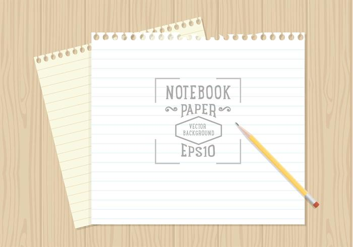 Free Notebook Paper Background Vector Download Free Vector Art – Notebook Paper Download