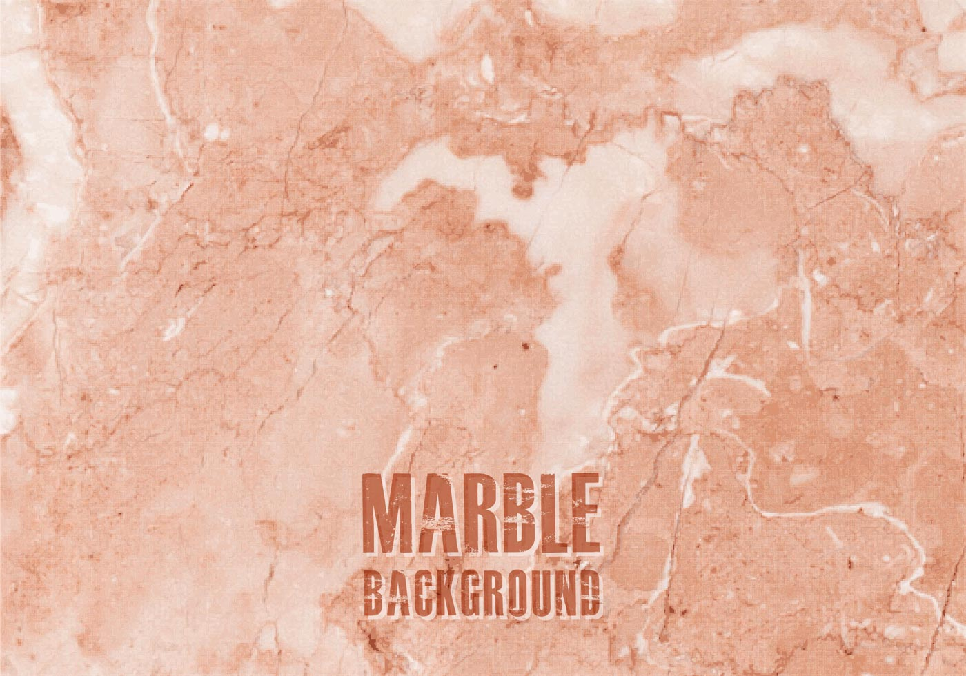 Free Orange Marble Vector Background Download