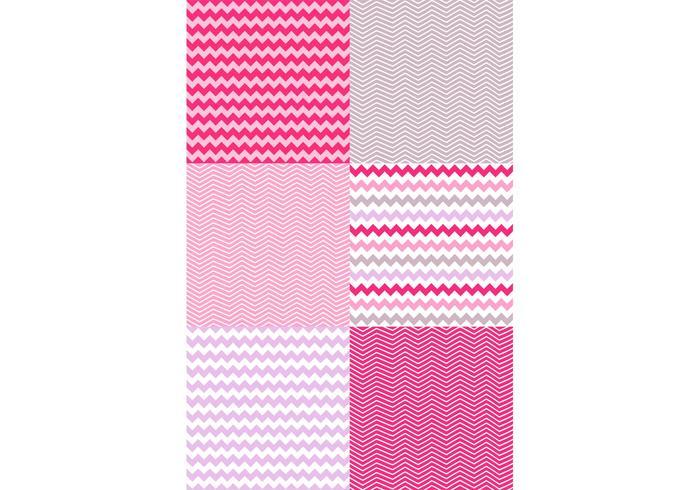Valentijn Chevron Patroon Set